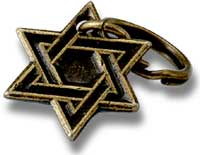 Star of David Charm