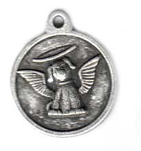 Doggy Angel ID Tag