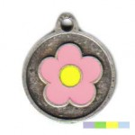 Coloured Daisy ID Tag