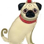 Pug Pet Luggage Tag
