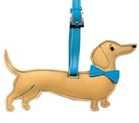 Daschund Pet Luggage Tag