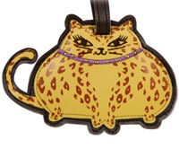Fat Cat Pet Luggage Tag