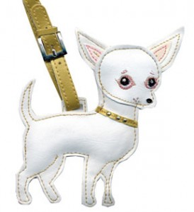 Chihuahua Pet Luggage Tag